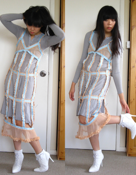 StyleBubble cut-out dress via Etsy Alchemy - made by Angie Montreal